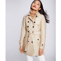 Belted Mid-Length Trench Coat