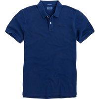 T-shirt rosso;blu uomo Polo a maniche corte in maglia piqué ROTTEN