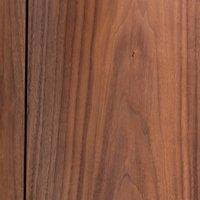 Aslen Walnut & Leather Bedside Table