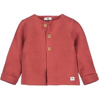 Cotton Crew-Neck Cardigan with Button Fastening, Birth-2 Years