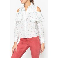 Arpege Long-sleeved Ruffled Shirt