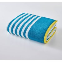 Striped 100% Cotton Bath Sheet