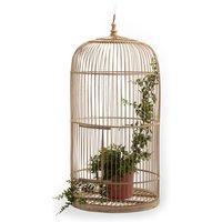 Nomado Bamboo Birds' Cage, H80cm