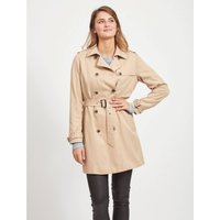 Long Belted Trench Coat.