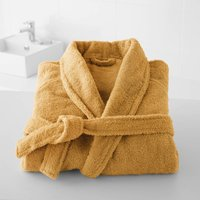 Cotton Shawl Collar Towelling Bathrobe