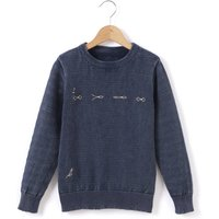 Embroidered Jumper, 3-12 Years