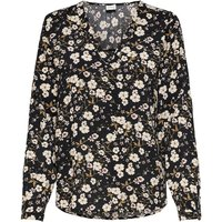shop for Printed V-Neck Blouse with Long Sleeves at Shopo