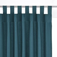 Scenario Cotton Tab Top Single Curtain