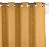 Panama Plain Single Cotton Curtain with Eyelets at La Redoute Catalogue
