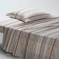Tyrol Printed Cotton Flat Sheet