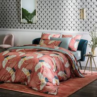 Grues Percale Printed Duvet Cover