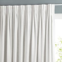 Colin Single Pure Linen Lined Curtain with Pinch Pleats