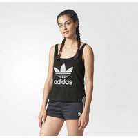 Sleeveless Crew Neck Vest Top