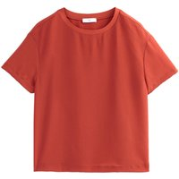 shop for Short-Sleeved Round Neck Blouse at Shopo