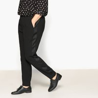 Trousers with Side Stripe, Length 30.5