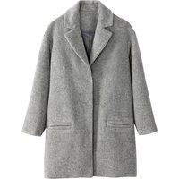 Oversized Wool Blend Coat