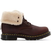 Kolbert Ankle Boots with Lace-Up Fastening and Faux Fur Lining