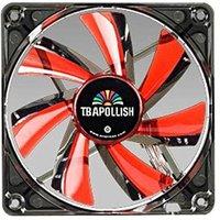 Ventilateur boitier Ventilateur T.B.Apollish Rot 120x120x25 vente au détail 17 dB 63,8 m³ / h (37,6 cfm)