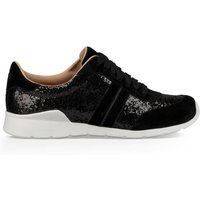 Jaida Glitter Lace-Up Low Top Trainers