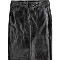 shop for Vinyl Straight Mini Skirt at Shopo
