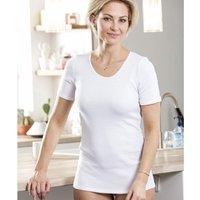 T-shirt grigio chiné;Nero;bianco donna T-shirt maniche corte Thermolactyl Grado 3