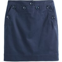shop for Cotton Mini Pencil Skirt with Pockets and High Waist at Shopo