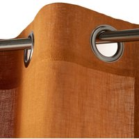 Onega Single Linen Voile Panel with Eyelets