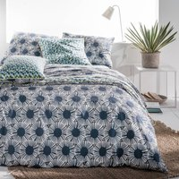 Blue Riviera Printed Duvet Cover