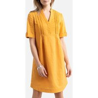 Linen/Cotton Shift Dress