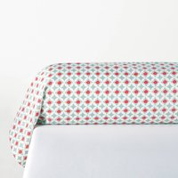 Miss Shanghai Bolster Pillowcase in Printed Cotton