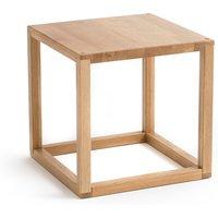 Crueso Solid Oak Square End Table