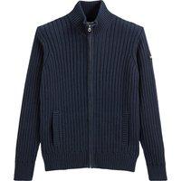 Pl Eco-Rage 1 Zip-Up Cardigan in Cotton Mix
