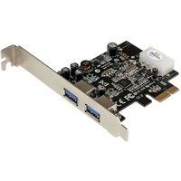 CARTE CONTRÔLEUR PCI-EXPRESS 1X AVEC 2 PORTS USB 3.0 AVEC UASP