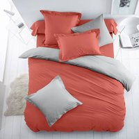 Two-Tone Polycotton Duvet Cover