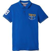 T-shirt Blu/grigio;grigio chiné;rosso bordeaux uomo Polo tinta unita maglia piqué maniche corte