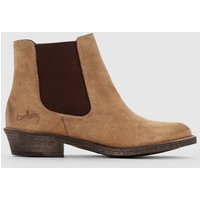 BRADLEY Leather Ankle Boots