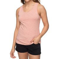 T-shirt rosa antico;blu donna T-shirt scollo rotondo senza maniche