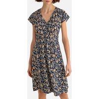 shop for Floral Print Mid-Length Dress at Shopo