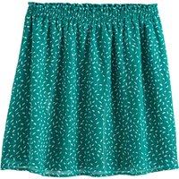 shop for Printed Mini Skater Skirt at Shopo
