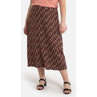 shop for Floral Print Midaxi Skirt at Shopo