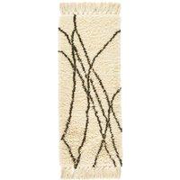LOUKA Berber-Style Wool Hall Runner