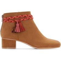 Ankle Boots with Braided Detail