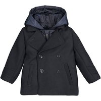 2-in-1 Hooded Pea Coat, 3 Months-3 Years