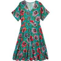 shop for Floral Print Midi Dress at Shopo