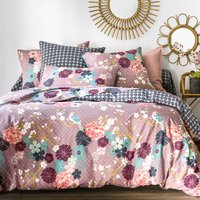 Miss China Duvet Cover in Lilac