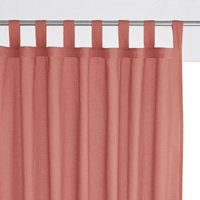 Single Cotton Voile Panel with Tab Top