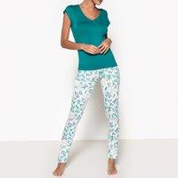 Arome Leaf Print Pyjamas