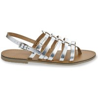 Herilo Leather Toe Post Sandals