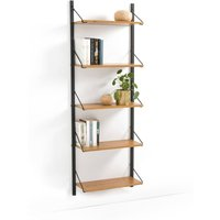 Quilda Wall-mounted Vintage Bookcase