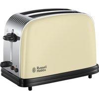 23334 Colous Plus 2 Slice Toaster - Cream